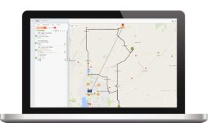 Geo Locations on Laptop